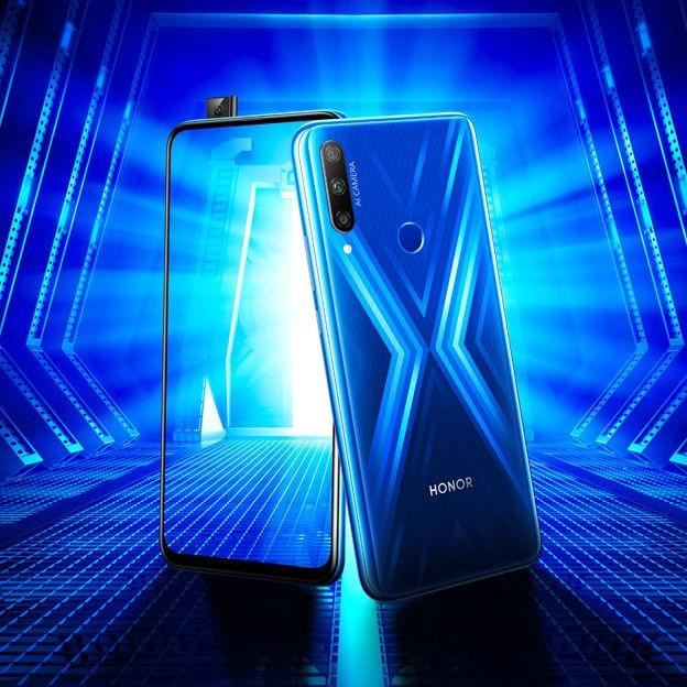 Mobilais telefons Huawei Honor 9X Sapphire Blue, 128 GB