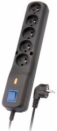 Sprieguma stabilizatori (Surge Protector) Lestar Surge Protector Black 2.5 m