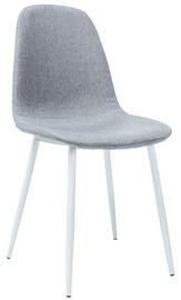Ēdamistabas krēsls Signal Meble Fox White/Grey, 1 gab.