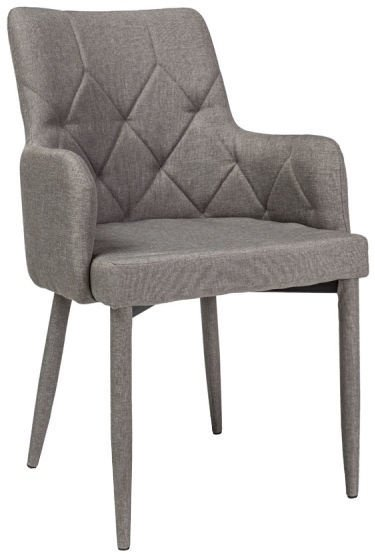 Ēdamistabas krēsls Signal Meble Ricardo Grey, 1 gab.