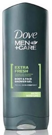 Dove Men Extra Fresh Shower Gel 400ml