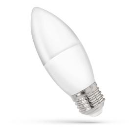 LED SPULDZE SPECTRUM B35 E27 8W MATĒTA