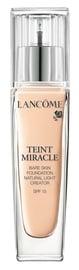 Tonizējošais krēms Lancome Teint Miracle Bare Skin Foundation SPF15 Beige Albatre, 30 ml