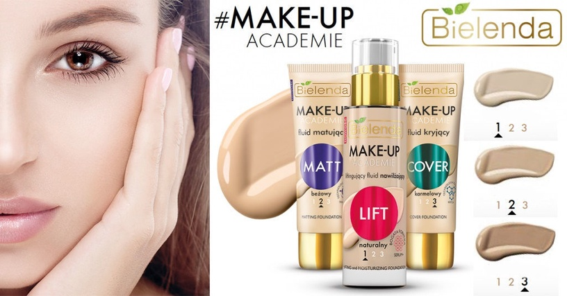 Bielenda Make-up Academie Perfect Cover Fluid 02