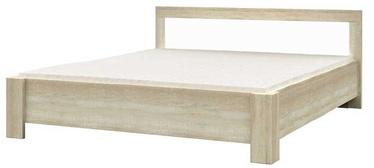 Gulta Idzczak Meble Milan Sonoma Oak/White, 160 x 200 cm