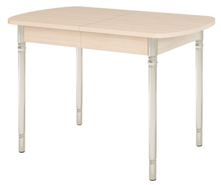 Pusdienu galds DaVita Orfej 10 Koburg Oak, 1120 - 1920x750x750 mm