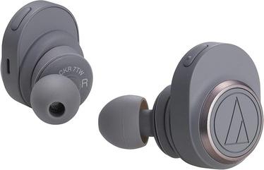 Austiņas Audio-Technica SonicSport ATH-SPORT7TW Grey, bezvadu