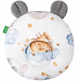 Lulando Teddy Velvet Pillow Sleepy