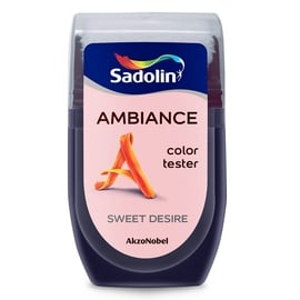 Эмульсионная краска Sadolin Tester, sweet desire, 0.03 л