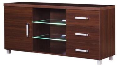 TV galds Bodzio Amadis A36 Brown, 1380x430x660 mm
