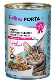 Feline Porta 21 Cat Wet Food w/ Tuna & Shirasu 400g