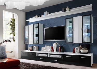 Dzīvojamās istabas mēbeļu komplekts ASM Iceland White/Black