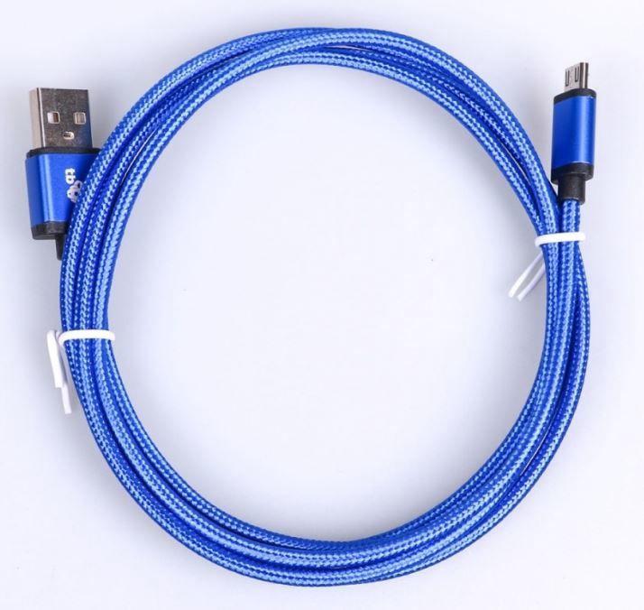 TB Cable Micro USB / USB 1.5m Blue