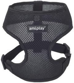 Bikšturis Amiplay Air, melna, 330 - 480 mm x 280 mm