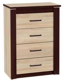 ML Meble Oliwier 13 Chest Of Drawers Sonoma Oak
