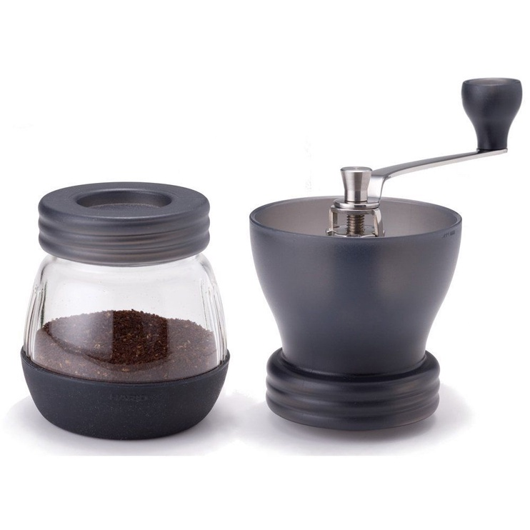 Hario Hand Coffee Grinder With Ceramic Burrs Black