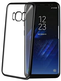 Celly Laser Back Case For Samsung Galaxy S8 Black