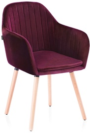 Homede Lacelle Chairs 2pcs Wine