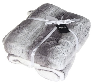 4Living Blanket 016745 130x170cm Grey