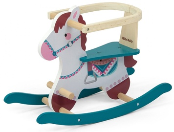 Milly Mally Lucky 12 Rocking Horse Blue