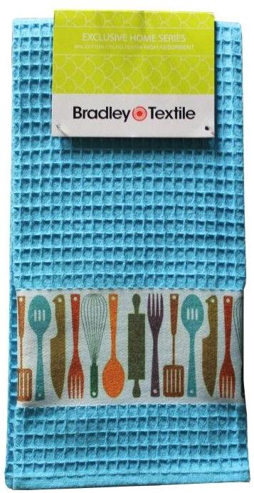 Кухонное полотенце Bradley Wafer 125071 Blue, 40x60 см, 1 шт.
