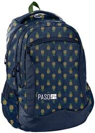 Рюкзак Paso Navy Blue/Pineapples PPMA19-2808