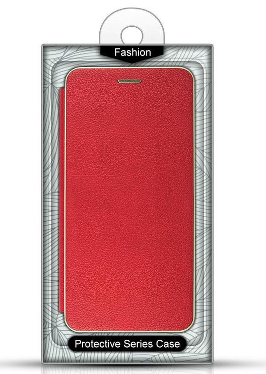 Mocco Frame Book Case For Samsung Galaxy S10e Red