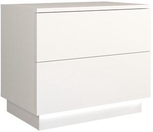 Ночной столик Top E Shop S2 Sela, белый, 55x35x47 см