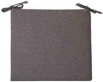 Krēslu spilveni Home4you Summer Chair Pad 43x38x2.5cm Black
