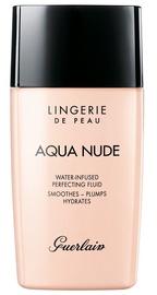 Tonizējošais krēms Guerlain Aqua Nude Perfecting Fluid Foundation SPF20 Deep Warm, 30 ml