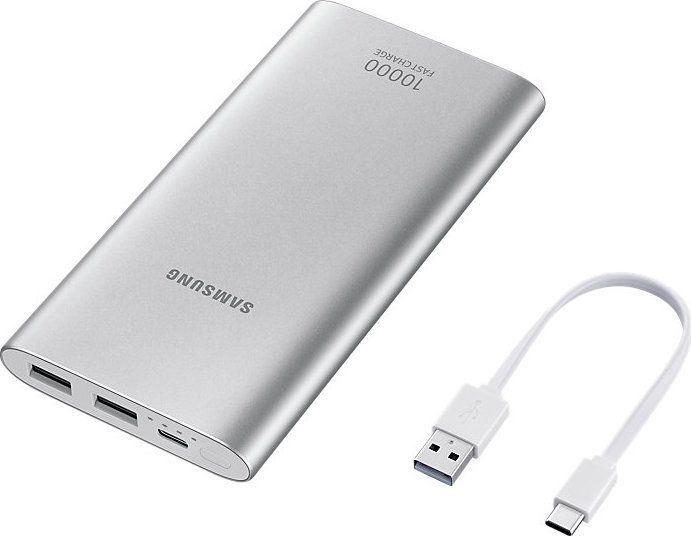 Внешний аккумулятор Samsung ULC Silver, 10000 мАч