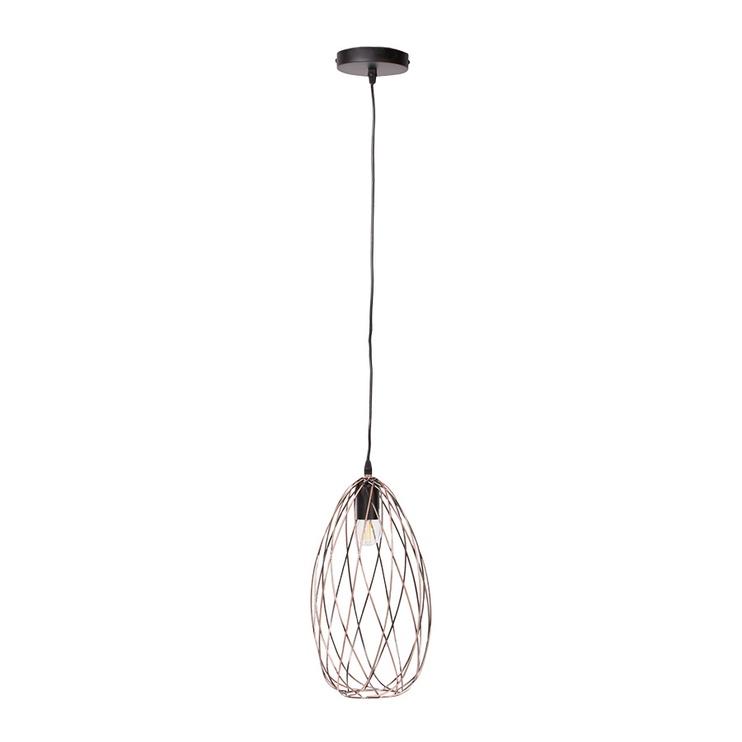 Gaismeklis Domoletti Casto MD42843-1A Ceiling Lamp 40W E27 Brown/Black