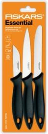 Fiskars Essential Vegetable Knife Set 3pcs