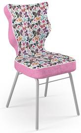 Bērnu krēsls Entelo Solo Size 5 ST31 Pink/Butterflies, 390x390x850 mm