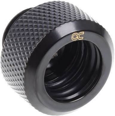 Alphacool Eiszapfen 13mm HardTube Compression Fitting G1/4 Black Pack Of 6