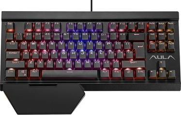 AULA Hyperion RGB Mechanical Gaming Keyboard Black ENG/RUS