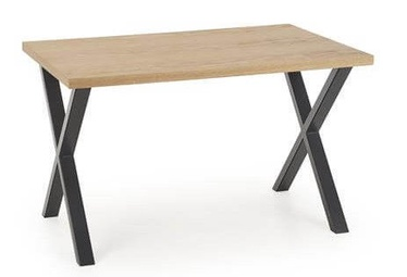 Halmar Table Apex 120 Natural Venner Oak/Black