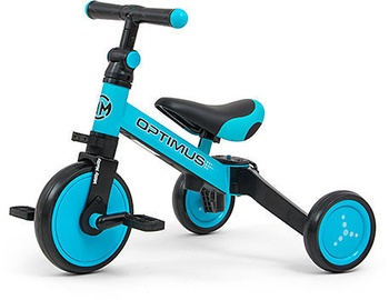 Tricikls Milly Mally Optimus Ride On 3in1 Blue