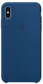 Apple Silicone Back Case For Apple iPhone XS Max Blue Horizon