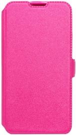 Telone Super Slim Shine Book Case For LG Stylus 2 K520D Pink