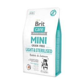 Сухой корм для собак Brit Care Mini Grain Free Light & Sterilised 2kg