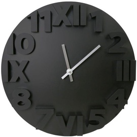 Sienas un interjera pulkstenis Platinet Modern Wall Clock 42985 Black