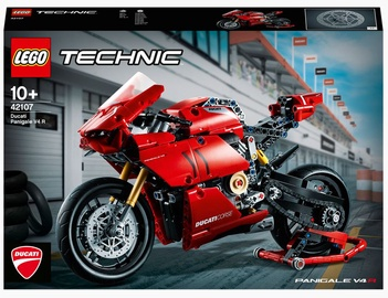 Konstruktors LEGO Technic Ducati Panigale V4 R 42107, 646 gab.