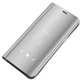 Hurtel Clear View Case For Samsung Galaxy J4 Plus J415 Silver