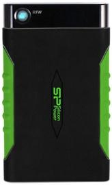 Cietais disks Silicon Power Armor A15, HDD, 1 TB, melna/zaļa
