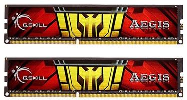 Operatīvā atmiņa (RAM) G.SKILL Aegis F3-1333C9D-16GIS DDR3 16 GB CL9 1333 MHz