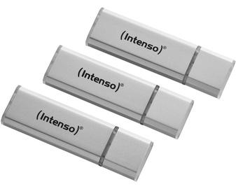Intenso Alu Line USB 2.0 32GB Silver 3pcs