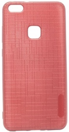 Mocco Cloth Texture Back Case For Huawei P9 Lite 2017 Red