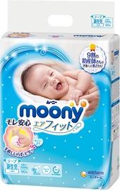 Autiņbiksītes Moony Airfit, 0, 90 gab.