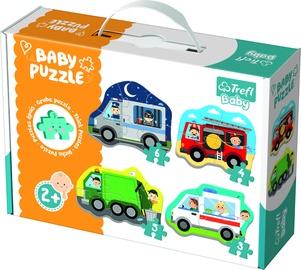 Пазл Trefl Baby Baby Vehicles 36071, 18 шт.